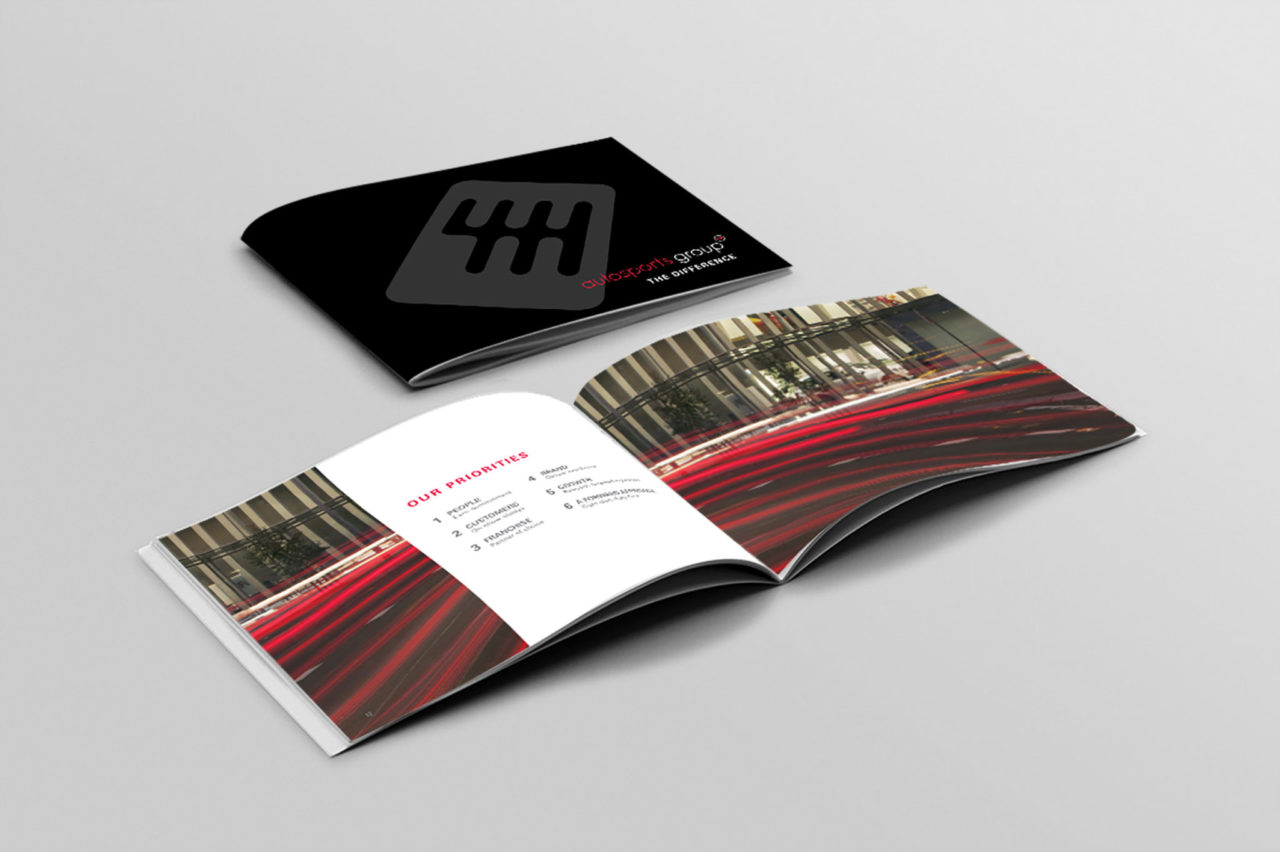 Brochure for Autosports | Corporate Edge client