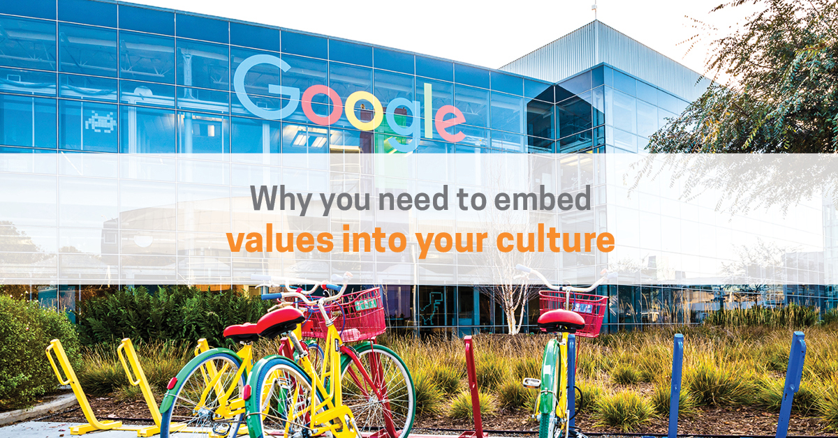 How To Embed Company Values Into Your Culture | Corporate Edge
