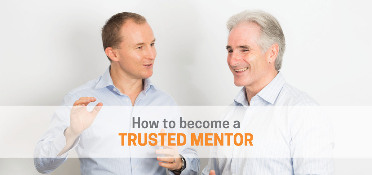 Header image showing How to Become a Trusted Mentor