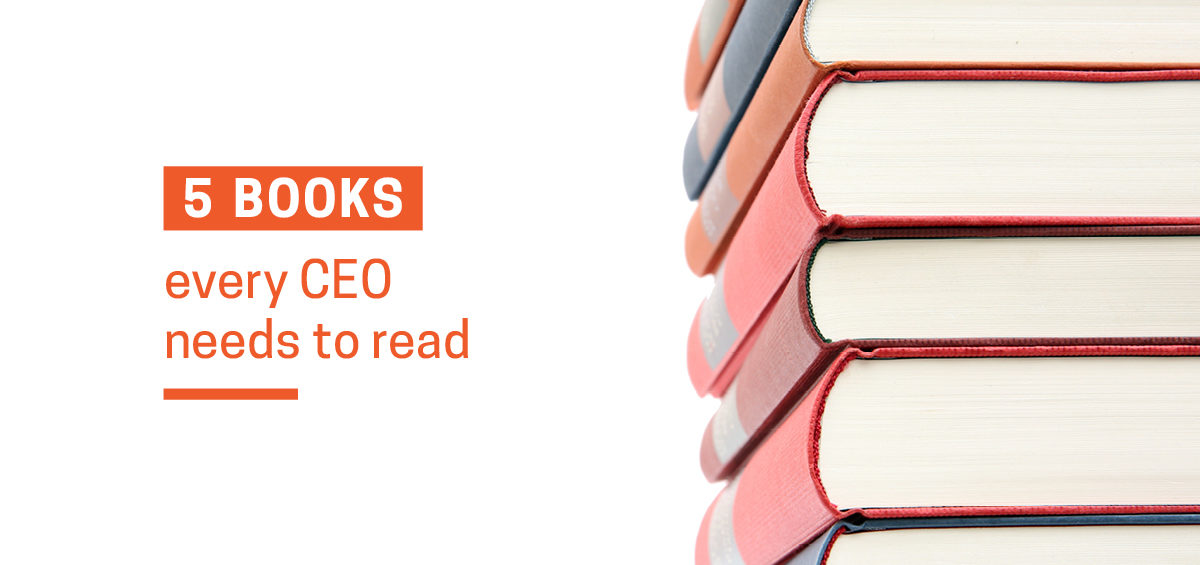 Feature image for article - Top 5 CEO books that every leader should read