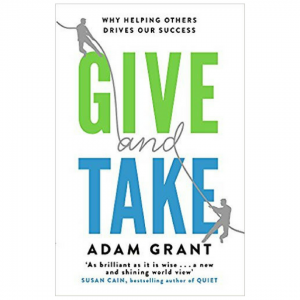 Give and Take by Adam Grant - Top 5 CEO Books for Leaders