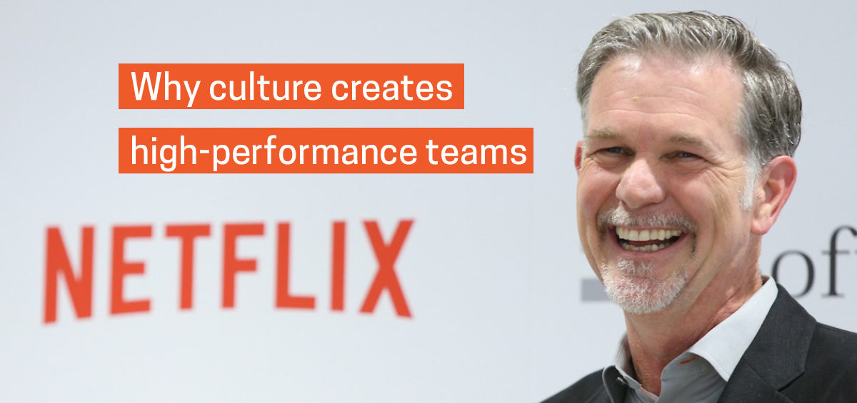 Netflix CEO, Reed Hastings, an inspirational leader who's company culture is aligned within their organisation of high performance team